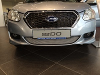 Защита радиатора для Datsun ON-DO 2014-Н.В. (Хром-Низ)