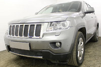 Защита радиатора JEEP GRAND CHEROKEE IV (WK2) 2010-2013г.в. (Чёрный-Низ)
